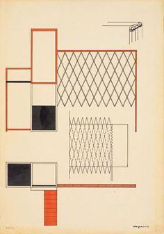 Rodchenko sketch - Russian Constructivism