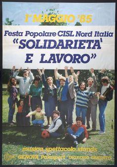 Manifesto CISL, 1985