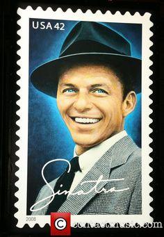 42-cent Frank Sinatra commemorative stamp dedication ceremony held at Gotham…