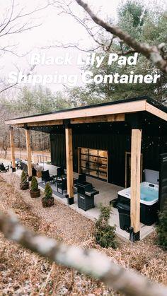 Tiny House Cabin, Tiny House Living, Tiny House Design, Modern Tiny House, Cabin Design, Small Modern Cabin, Tiny House Village, Small Log Cabin, Tiny House Blog