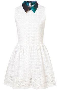 **Sky Collar Dress by Sister Jane topshop