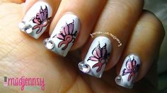 If butterflies and rhinestones are your thing, get the how to for this look here.