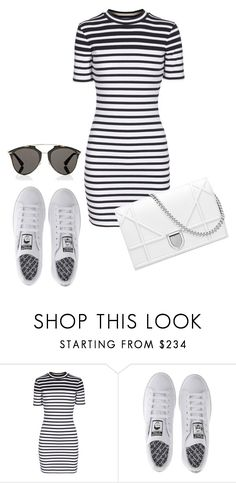 """""""LOUDER"""" by agnesegundega on Polyvore featuring T By Alexander Wang, adidas and Christian Dior"""