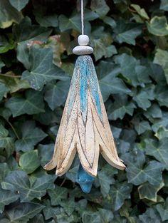 Elfen-Glocke~Keramik-Unikat~Garten-Dekoration~Ton