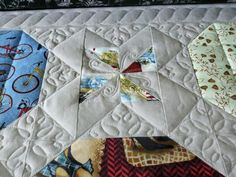 Sew-n-Sew Quilting: On the machine today...