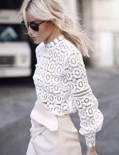 crochet & lace style ideas