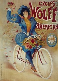 BICYCLE VINTAGE AD POSTER