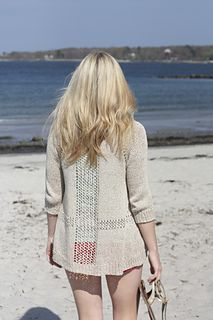 Sandshore Cardigan by Alicia Plummer in Quince & Co. Kestrel. I want to make this!