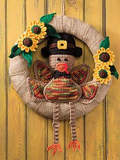 Ravelry: Mr. Turkey Wreath pattern by Kenneth Cormier