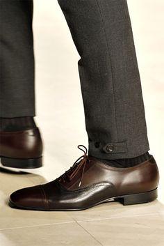 Pant Leg Details / Burberry Prorsum menswear Fall Winter 2012-13 collection