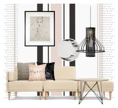 """""""The Applause. Art by Marcel Garbi..."""" by gloriettequartet on Polyvore featuring interior, interiors, interior design, home, home decor, interior decorating, Fornasetti, Resident, Urban Nature Culture and Pillow Decor"""