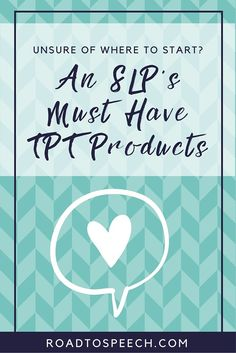 Looking for some great TPT products? Check out this blog post for a list of a school SLP's favorite products for speech therapy.