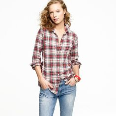 I need a perfect tartan shirt that doesn't cost $78. But this is what I'll base it off of ;)