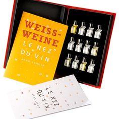Jean Lenoir Le Nez du Vin: 12 white wine aromas