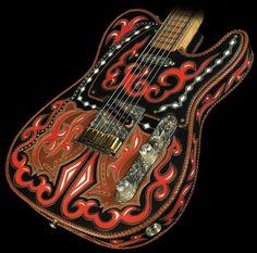 1995 Fender Custom Shop Western Boots Telecaster Set - Used