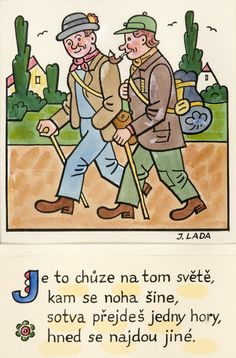 Kalamajka – Je to chůze na tom světě, 1913 Paper Patterns, Pattern Paper, Stamp Carving, Czech Republic, Folklore, Blue Bird, Illustrators, The Past, Language