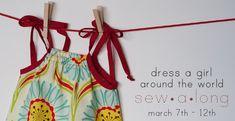 adding a pleat to a pillowcase dress. Dress A Girl pleated pillowcase dress