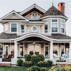 24 Most Popular Dream House Exterior Design Ideas ~ House Design Ideas Dream Home Design, My Dream Home, Dream Home Plans, Luxury Home Plans, Luxury Homes, Style At Home, Cute House, I Love House, Ideal House