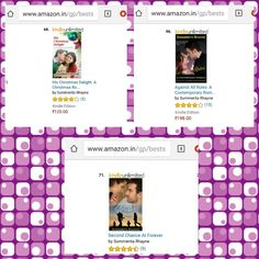 3 books in #top100paid in #contemporary #romance at Amazon.in http://www.amazon.com/author/summeritarhayne  #HCD  #AAR #SCAF