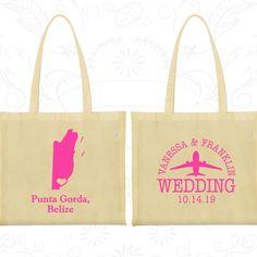 Wedding Bags, Tote Bags, Wedding Tote Bags, Personalized Tote Bags, Custom Tote Bags, Wedding Welcome Bags, Wedding Favor Bags (162)