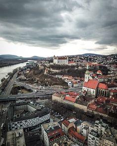 Drone Photography, Travel Essentials, Old Town, Paris Skyline, Bratislava Slovakia, Drama, Castle, River, Travel Europe