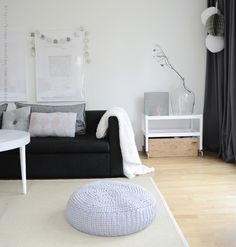 Black and white Interior