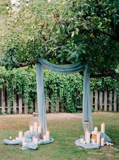 Rancho Las Lomas Casa Bella - Gorgeous and simple idea for an intimate wedding ceremony! - Dennis Roy Coronel Photography