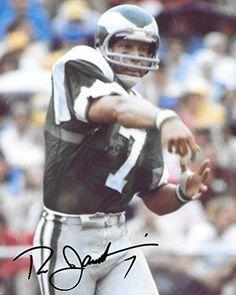 360ccd20cc3 Ron Jaworski, Philadelphia Eagles, Signed, Autographed, 8X10 Photo, a COA  with