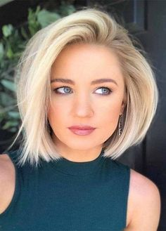 Adorable Blonde Bob Haircuts and Hairstyles for Women 2019 Bob Hairstyles sexy bob hairstyles Cute Bob Haircuts, Bob Hairstyles For Fine Hair, Hairstyles Haircuts, Pretty Hairstyles, Womens Bob Hairstyles, Hairstyle Ideas, Anime Hairstyles, Hairstyle Short, School Hairstyles