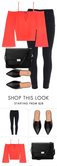 """Untitled #2705"" by elenaday on Polyvore featuring Paige Denim, Bebe and Aspinal of London"