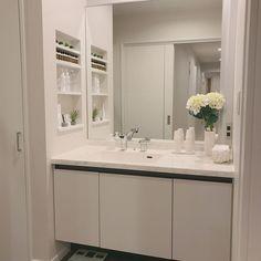 Bathroom/洗面台/洗面所/インテリア/ニッチ/シンプルモダン...などのインテリア実例 - 2018-03-30 09:24:41 | RoomClip (ルームクリップ)