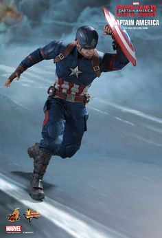 Hot Toys : Captain America: Civil War - Captain America 1/6th scale Collectible Figure