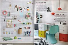 awesome desk & pegboard