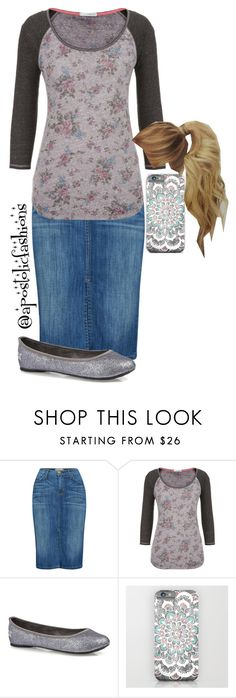 """Apostolic Fashions #868"" by apostolicfashions on Polyvore featuring Current/Elliott and maurices"