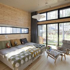 Log Home Interiors, Living Styles, Log Homes, Outdoor Furniture, Outdoor Decor, Master Bedroom, Cottage, House, Home Decor