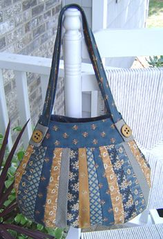 Lollapalooza Pattern-handbag Patterns-StudioKat Designs