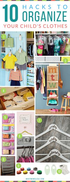 How to organize your kids closet, clothes and outfits | Hacks, Tips and Tricks for Organized, Stress-Free Mornings with kids #kidoutfits