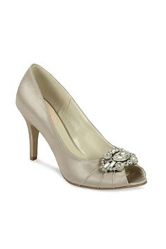 a4995f056e2 Pink by Paradox London Satin  tender  high heel stiletto peep toe shoes
