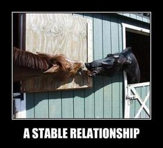That looks like an un-stable relationship!