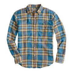 Summerweight twill shirt in Winnicut plaid. YOU WILL WEAR IT AND YOU WILL LIKE IT.