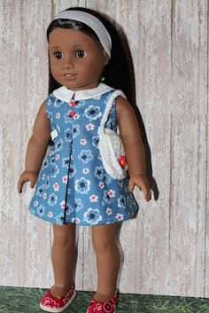 American Girl 1960s or 1970s Flower Power by breezywindy