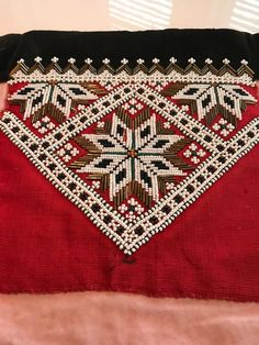 Hardanger Embroidery, Tapestry Crochet, Bohemian Rug, Diy And Crafts, Diva, Cross Stitch, Beads, Decor, Beading