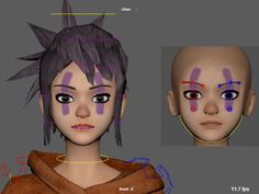 I am a freelance character animator / rigger.