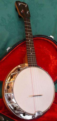 lardyfatboy: New York Band Instrument Co. Tone King Banjolele =Lardys Ukulele of…