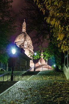 Sacre Coeur by Jose A. Bejarano, Paris Sacre Coeur by Jose A. Montmartre Paris, Paris Paris, Tour Eiffel, Versailles, Places Around The World, Around The Worlds, Belle France, Saint Ouen, Paris Love