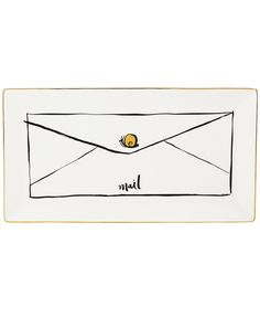 kate spade new york Daisy Place Snail Mail Tray - Collections - For The Home - Macy's