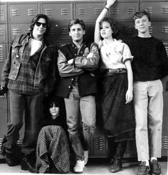 The Breakfast Club (John Hughes, Judd Nelson, Ally Sheedy, Emilio Estevez, Molly Ringwald and Anthony Michael Hall 80s Movies, Great Movies, I Movie, High School Movies, 1980s Films, Movie Scene, Watch Movies, 1990s, Film Music Books