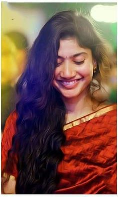 Sai pallavai this one smile is enough,to fall ! Beautiful Girl Photo, Beautiful Girl Indian, Most Beautiful Indian Actress, Beautiful Actresses, Beautiful Heroine, Indian Photoshoot, Saree Photoshoot, Sai Pallavi Hd Images, Indian Heroine
