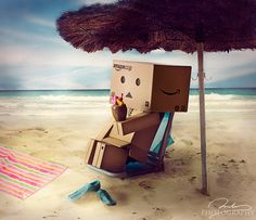 Danbo and summer  http://500px.com/0905
