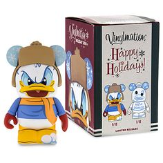 Donald Duck 3'' Eachez Figure - Happy Holidays 2016 - Limited Release